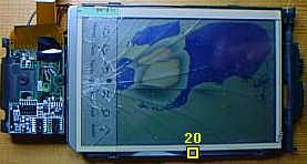 How to disassemble an Apple Newton Messagepad 120, image 8 of 15. Copyright (c) 2002 Frank Gruendel