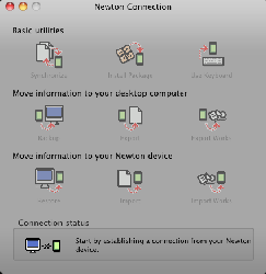 NCX Newton Not Connected