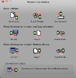 Newton Connected To NCX