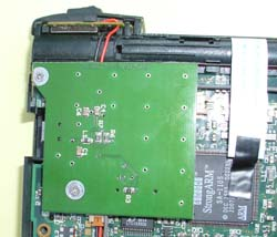 Board Fastened With Screws